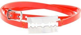 McQ by Alexander McQueen razor blade bracelet