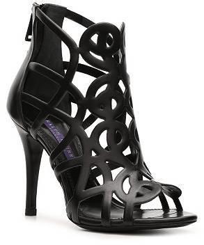 Ralph Lauren Asia Leather Cutout Sandal