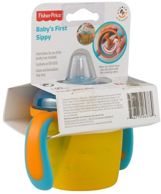 Fisher-Price Baby's First Sippy - Blue/Orange - 5 oz