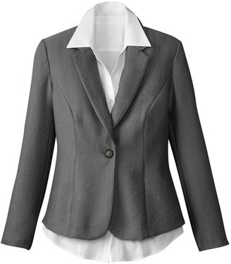 Coldwater Creek Textured jacket