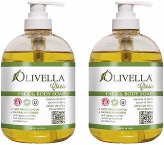 Olivella Liquid Soap Duo with Pump Dispensers