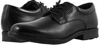 Rockport Essential Details Waterproof Plain Toe Oxford (Black) Men's Shoes