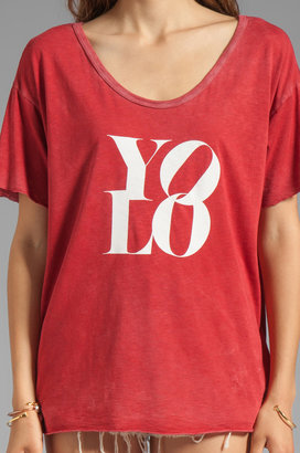 Feel The Piece x Tyler Jacobs Yolo Vintage Tee
