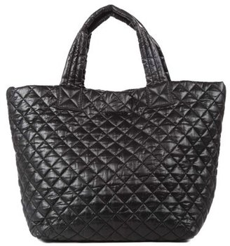 Mz Wallace 'Small Metro' Quilted Oxford Nylon Tote - Black $195 thestylecure.com