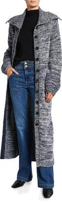Frame Wool Maxi Cardigan