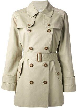 Tsumori Chisato double breasted trench coat