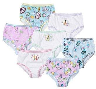LICENSE Disney Fairies Toddler Girls' 7 Pack Brief Set - Assorted