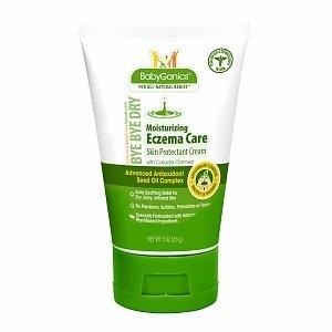 BabyGanics Eczema Care Skin Protectant Cream, Fragrance Free