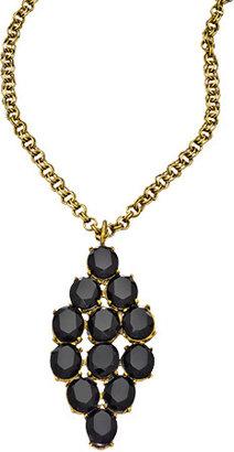 Jennifer Elizabeth Gold Mick Pendant Necklace