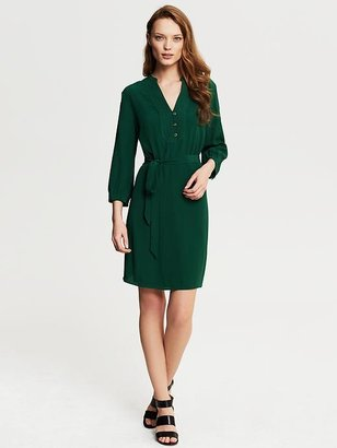 Banana Republic Heritage Green Shirtdress