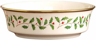 "Lenox Serveware, 9"" Holiday Serving Bowl"