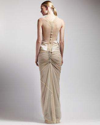 Rick Owens Long Shrimp Skirt