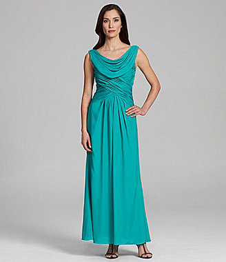 Patra Stretch Crepe Gown