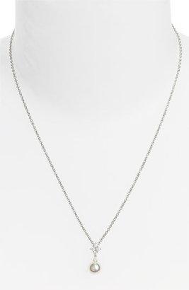 Mikimoto 'Classic Elegance' Akoya Cultured Pearl & Diamond Necklace