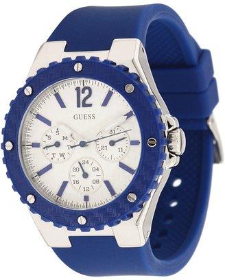 GUESS Feminine Sport Watch U10657L3 (Navy Blue) - Jewelry