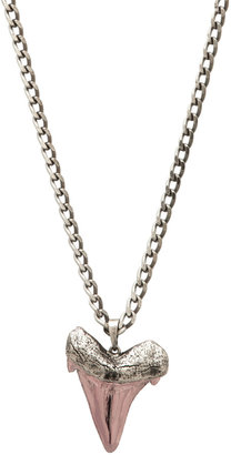 Luv Aj Oversized Shark Tooth Long Necklace