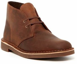 Clarks Bushacre Leather Chukka Boot - Wide Width Available
