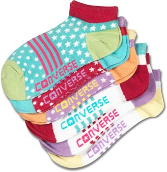 Converse Youth Low Cut Sock 6pk
