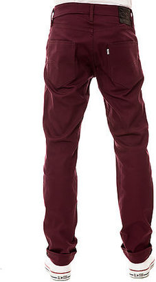 Levi's Levis Commuter The 511 Commuter Pants in Winetasting