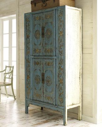 Aqua Double Lotus Cabinet