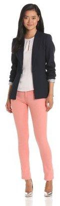 Twenty8Twelve Women's Lux Twill Tailored Blazer