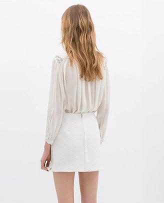Zara Skirt With Zips