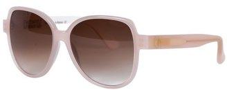 Emmanuelle Khanh Pale Pink Butterfly Sunglasses