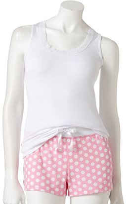 Kohl's cares candies printed camisole and shorts pajama set