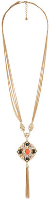 Forever 21 Chain Tassel Necklace