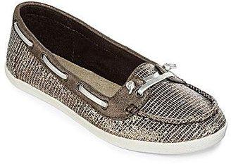 Arizona Harbor Metallic Boat Shoes