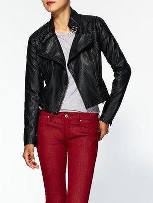 Blank Vegan Leather Jacket