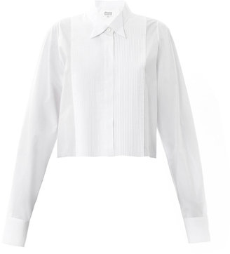 Maison Martin Margiela Tuxedo raw-edge shirt
