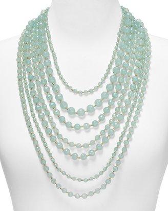"""RJ Graziano Multi Strand Beaded Necklace, 20.5"""""""