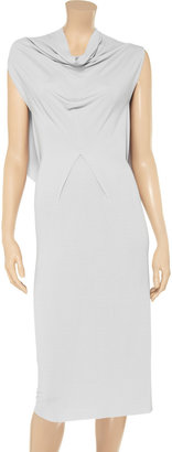 Roland Mouret Bardell draped jersey dress