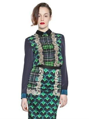 Emma Cook Printed Silk Georgette Shirt