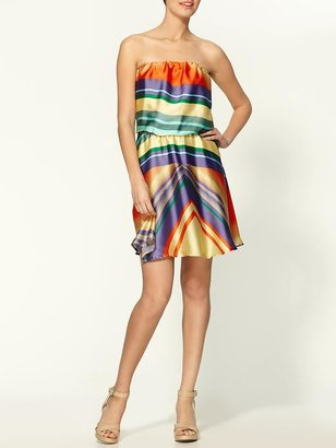 Collective Concepts Sunrise Strapless Dress