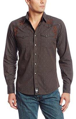 Wrangler Men's Rock 47 Grey Shirt