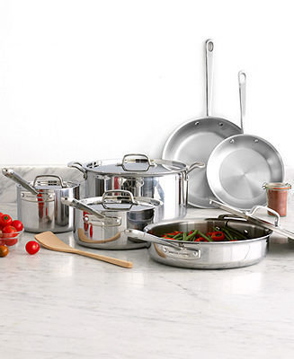 Martha Stewart Clearance Collection Professional Series Tri Ply Cookware, 10 Piece Set