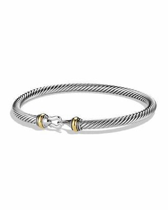 David Yurman Cable Buckle Bracelet $450 thestylecure.com