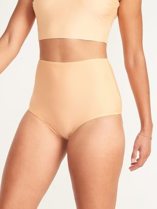 Old Navy High-Waisted Reversible Boys'hort Swim Bottoms for Women