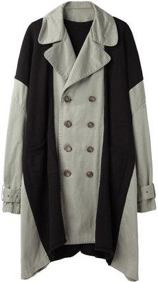 Limi Feu Knit Panel Army Coat