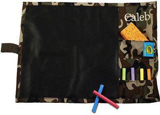 Crayola Doodlebugz Chalkboard Placemat Green Camo