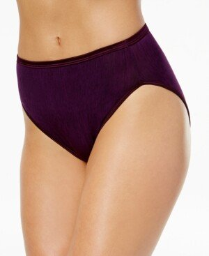 Vanity Fair Illumination Hi-Cut Brief Underwear 13108, also available in extended sizes