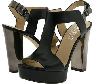KORS Vernon (Black/Gunmetal) - Footwear