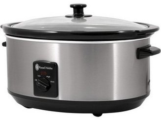 Russell Hobbs RHSC600 6 litre Slow Cooker: Stainless Steel