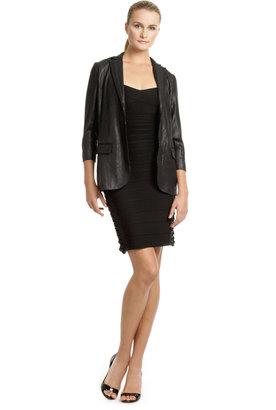 Nicole Miller Sequin Mod Blazer