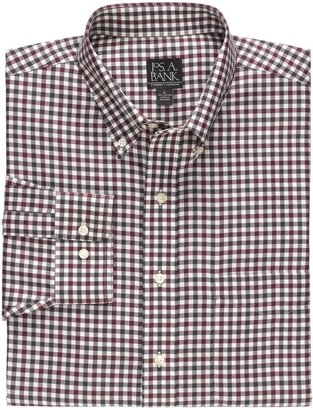 Jos. A. Bank Traveler Buttondown Tartan Plaid Sportshirt