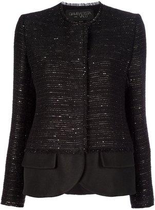 Giambattista Valli bouclé layered jacket