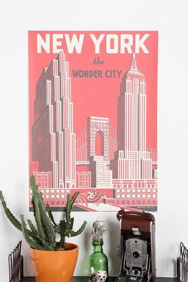 Urban Outfitters The Wonder City Poster