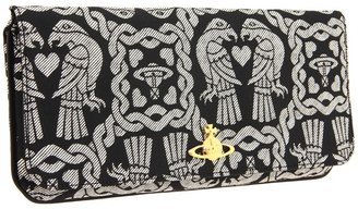 Vivienne Westwood New Eagle Jacquard Bag (Argento) - Bags and Luggage